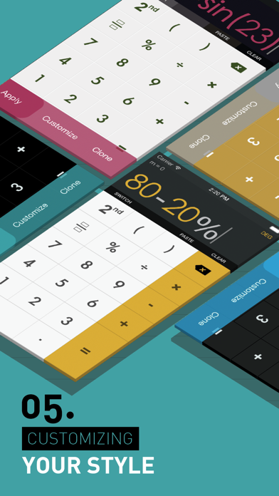 Scientific Calculator review screenshots