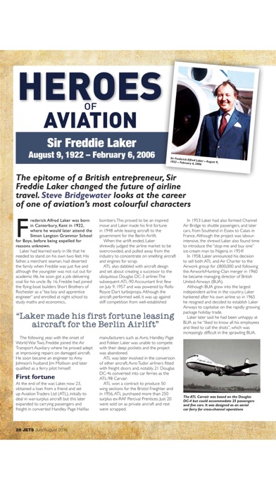 JETS Magazine - Aviation heritage news on classic airliner
