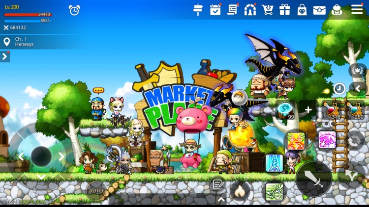 MapleStory M: Fantasy MMORPG screenshot-8