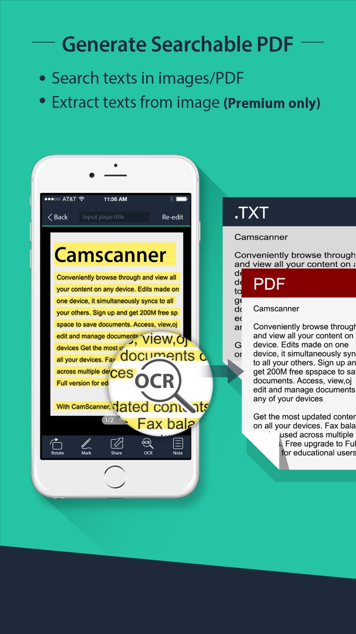 CamScanner | Document Scanner Screenshot