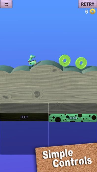 Screenshot 1 Wobble Frog Adventures