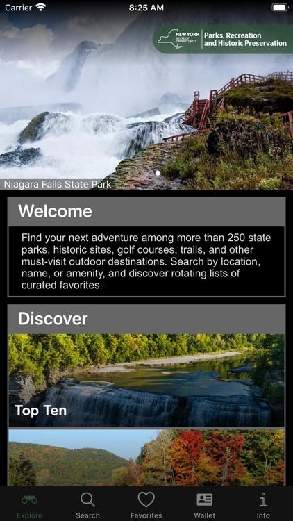 NY State Parks Explorer