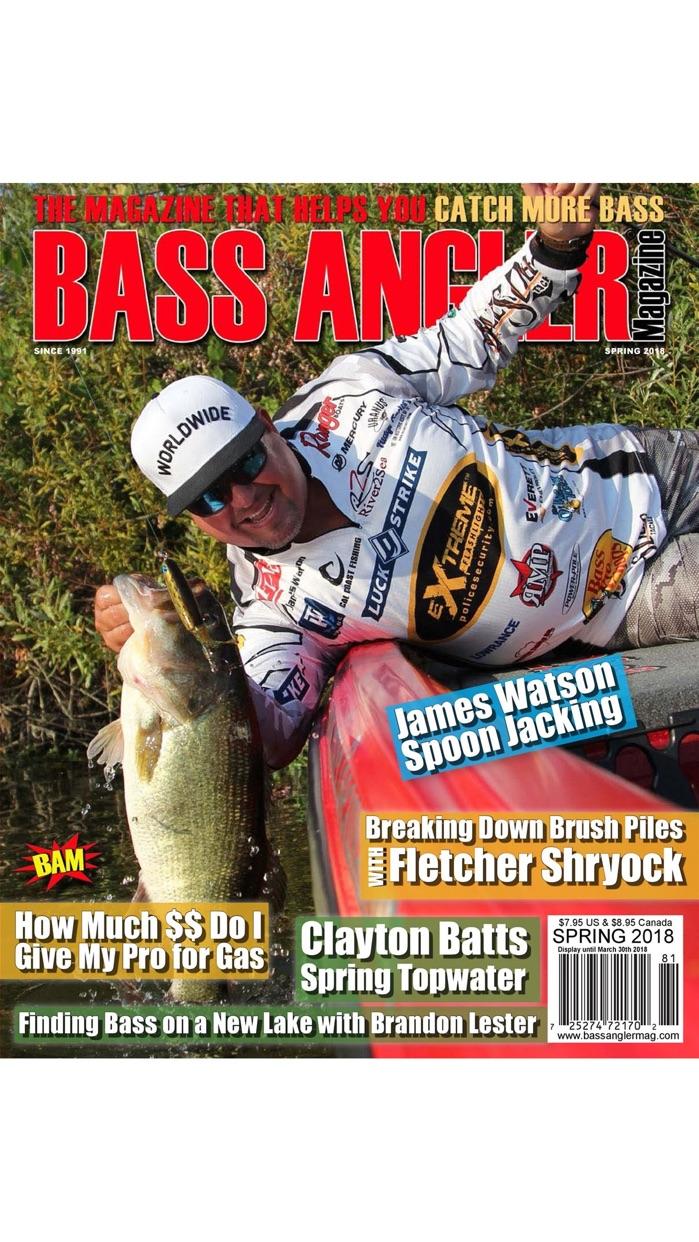 Bass Angler Magazine Screenshot