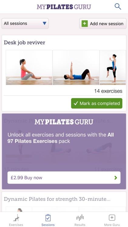 My Pilates Guru Lite screenshot-3