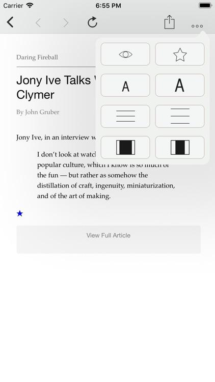 CloudNews - Feed Reader screenshot-3