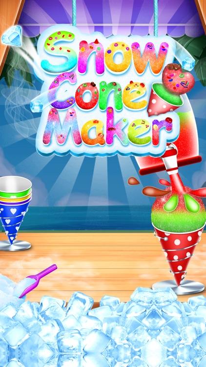 Snow Cone Maker Game