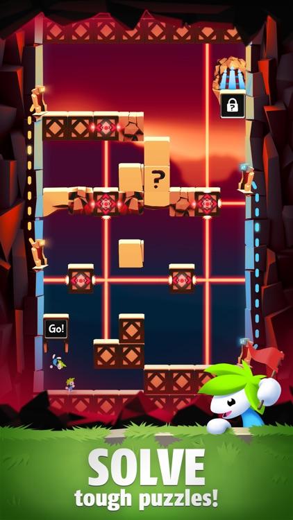 Lemmings: The Puzzle Adventure screenshot-3