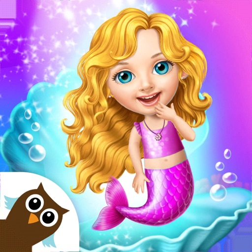 Sweet Baby Girl Mermaid Life icon