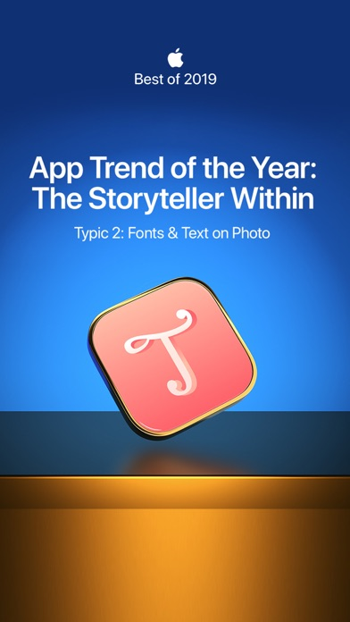 Screenshot #1 pour Typic 2: Text & Photo Editor