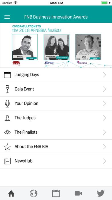 Innovation Awards screenshot two