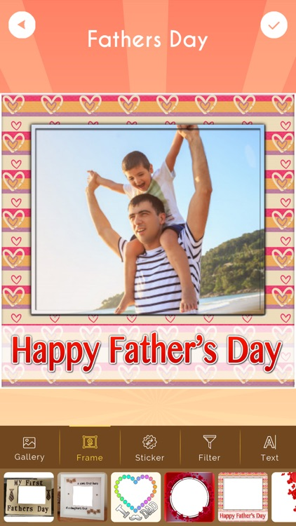 Father's Day Photo Frame HD