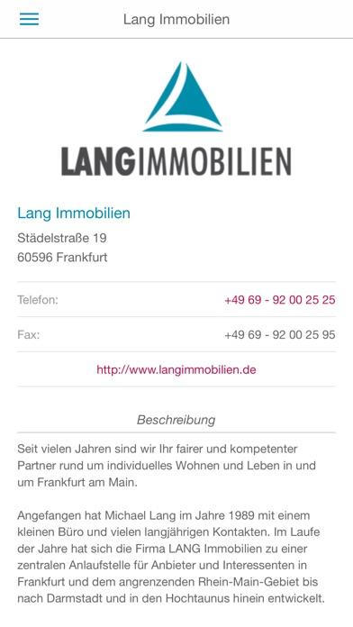 LANG Immobilien GmbHScreenshot von 2