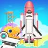 恐竜のロケット: 子供のためのゲームアイコン