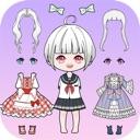 Vlinder Doll 2-dress up games