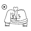 Animated Mr White Sticker