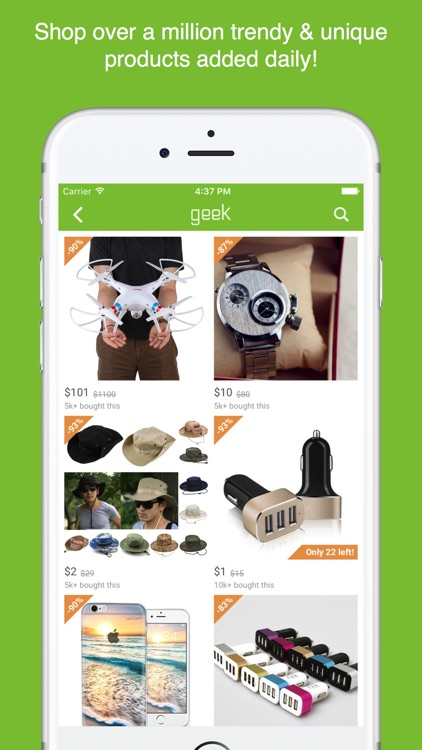Geek - Smarter Shopping screenshot-1
