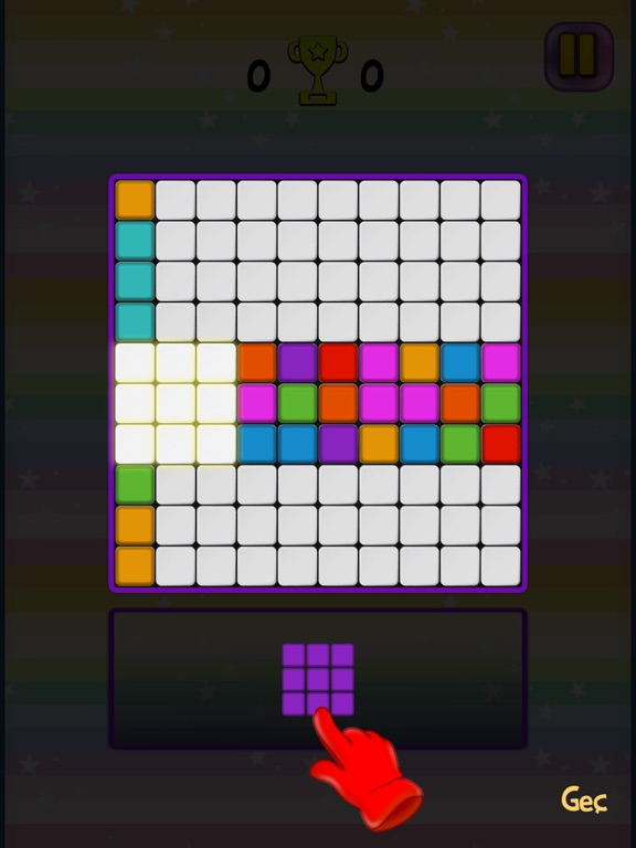 Renkli Bloklar screenshot #2