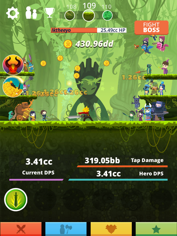 Tap Titans by Game Hive Corp  (iOS, United States