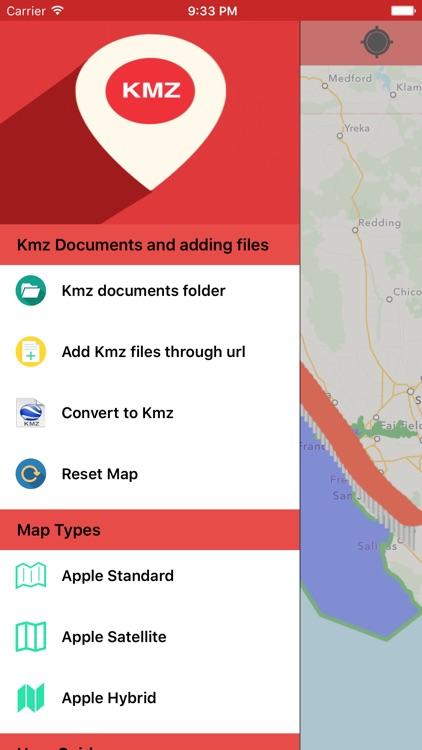 Kmz Viewer-Kmz Converter app