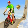 منحدر مستحيل لدراجة BMX