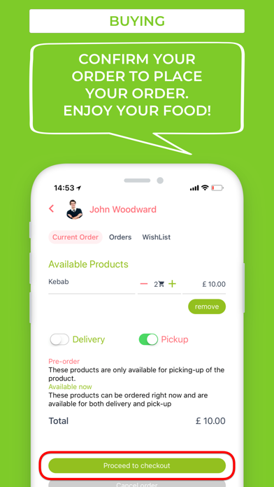 YumNow screenshot three