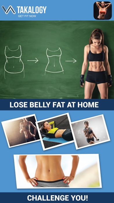 Lose Belly Fat - Abs Workoutのおすすめ画像1