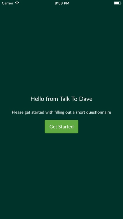 Talk With Dave!