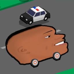 Head Racing vs Police Car game