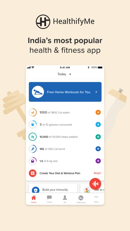 HealthifyMe: Weight Loss Plan