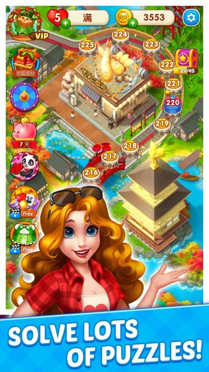 Mahjong Food City screenshot-3