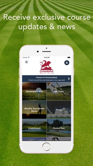 Chimera Golf Club on the App Store