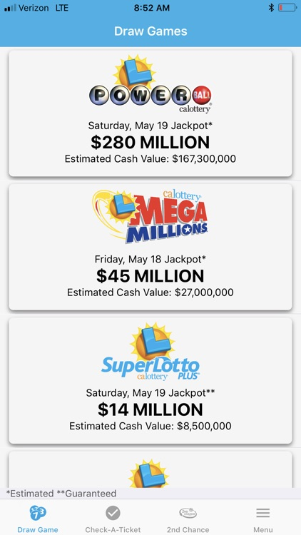CA Lottery Official App screenshot-4