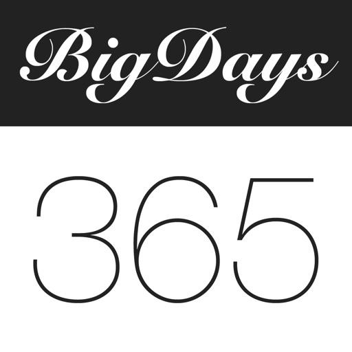 Big Days! Ereignisse Countdown