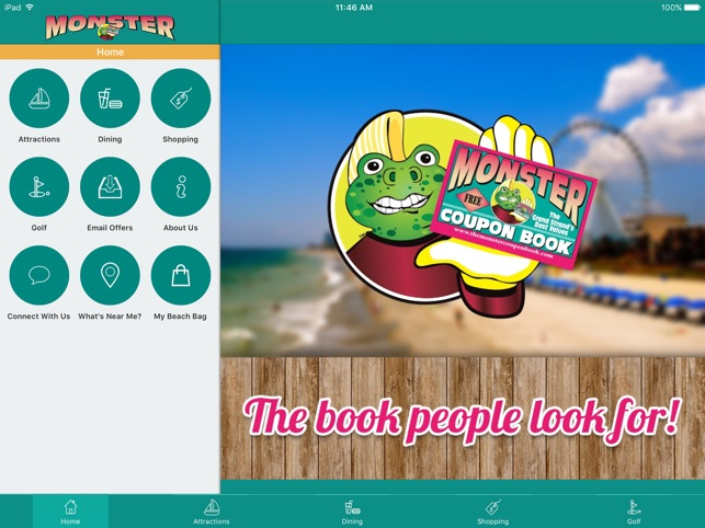Luxury Monster Coupon Book Myrtle Beach