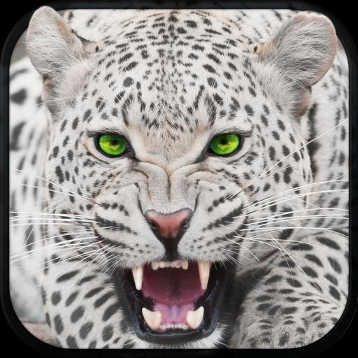 дикий снег леопард имитатор