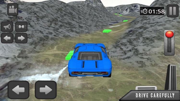 Snow Car Driving:Race HillRoad