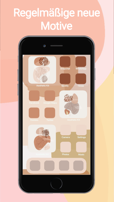 Aesthetic Kit,Icons und MotiveScreenshot von 8