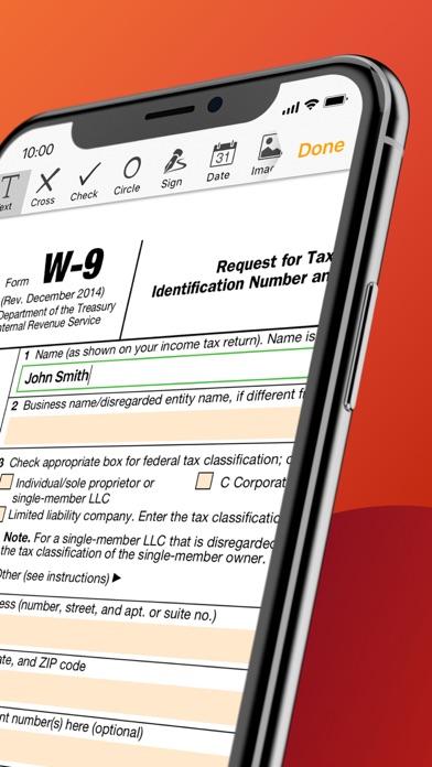 Screenshot #2 pour pdfFiller: modifier pdf & docs