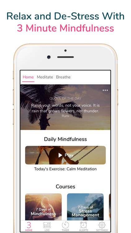 3 Minute Mindfulness screenshot-6