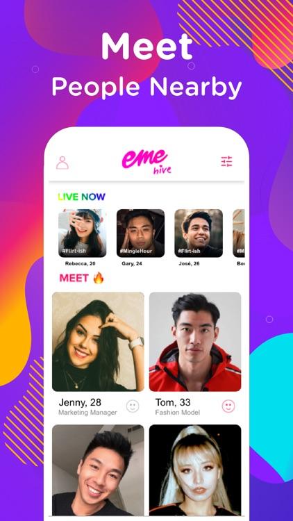 EME Hive - Dating, Go Live screenshot-0