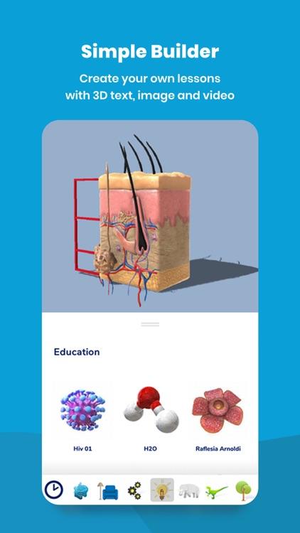 Assemblr EDU: Learn in 3D & AR screenshot-4