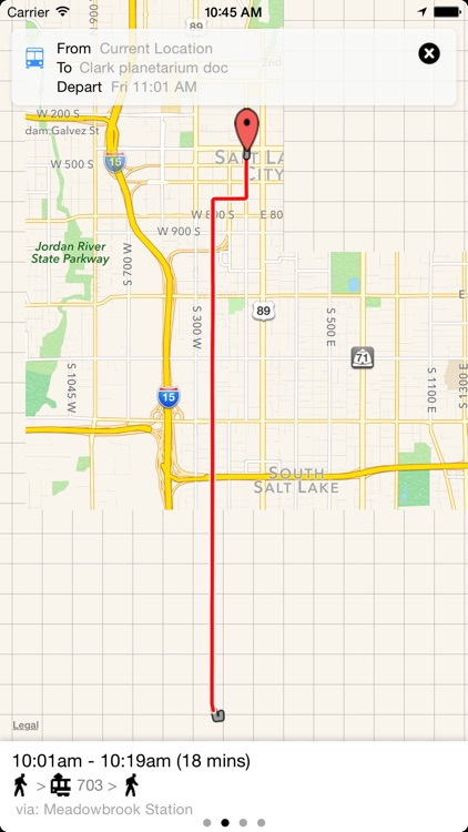 Transit Tracker - Utah (UTA) screenshot-2