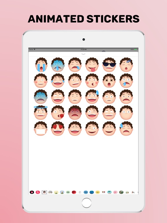 Animated Face Stickers screenshot #3