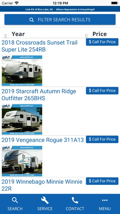 Image of Link RV Rice Lake for iPhone