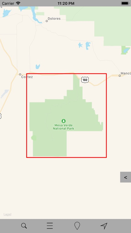 Mesa Verde National Park – GPS