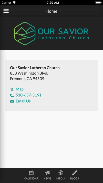 Our Savior Lutheran Fremont screenshot-0