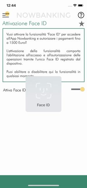 app nowbanking per generare otp