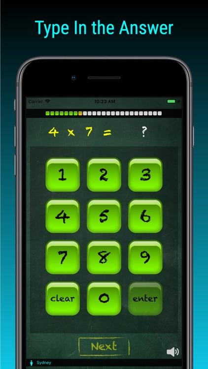 TimesX Lite Times Tables Quiz screenshot-0