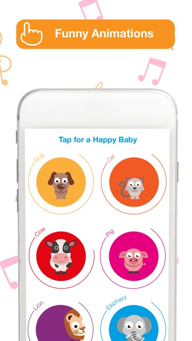 Screenshot #8 for Happy Baby: laugh & learn app