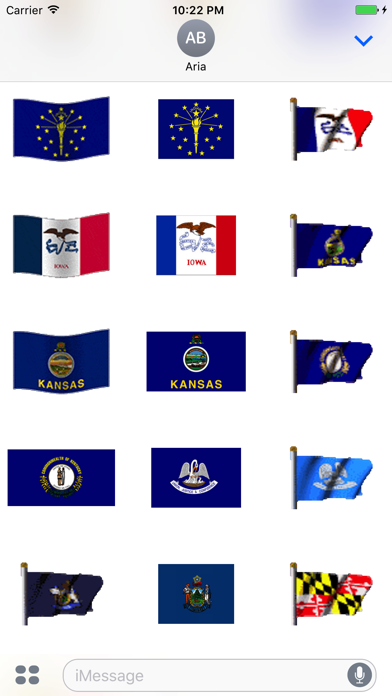 Animated Flags Of 50 US States screenshot four